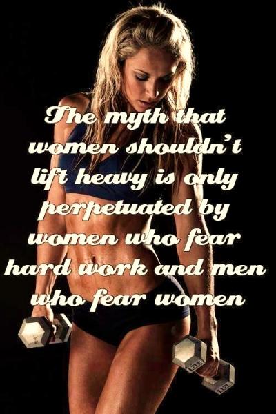 Ladies & Weights!